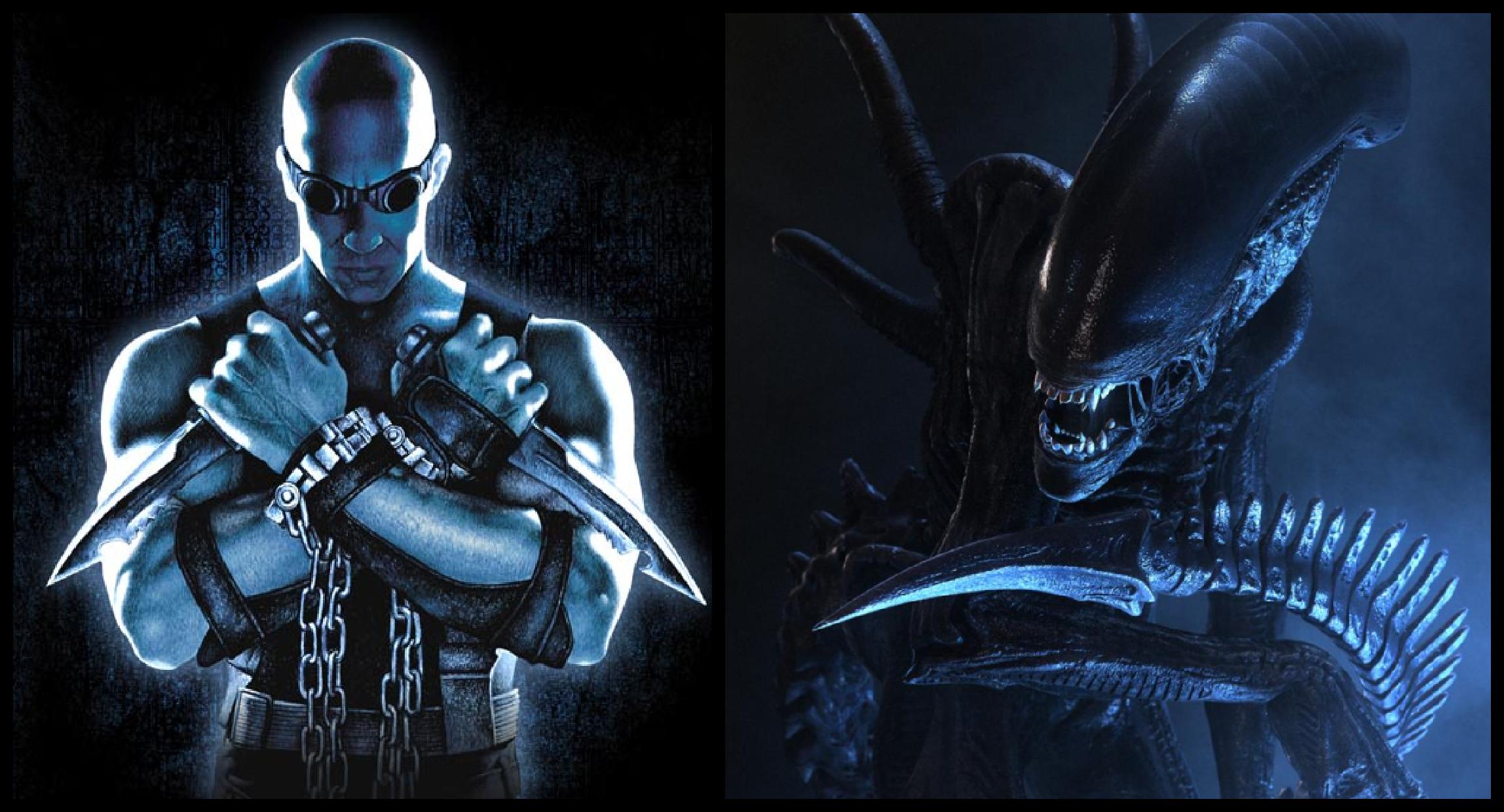 Riddick vs Alien Crossover