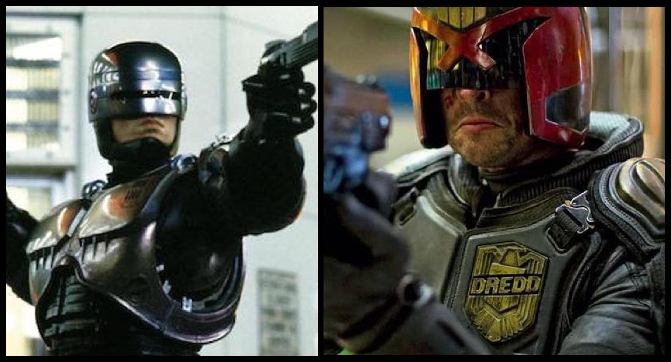 RoboCop vs Dredd Crossover