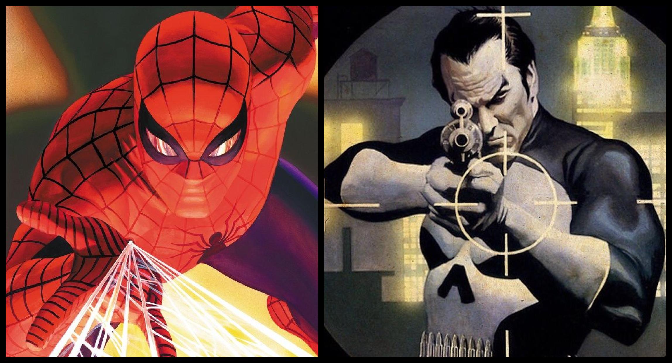 (Alex Ross) SpidermanVsPunisher