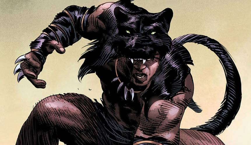 Stone Age Black Panther