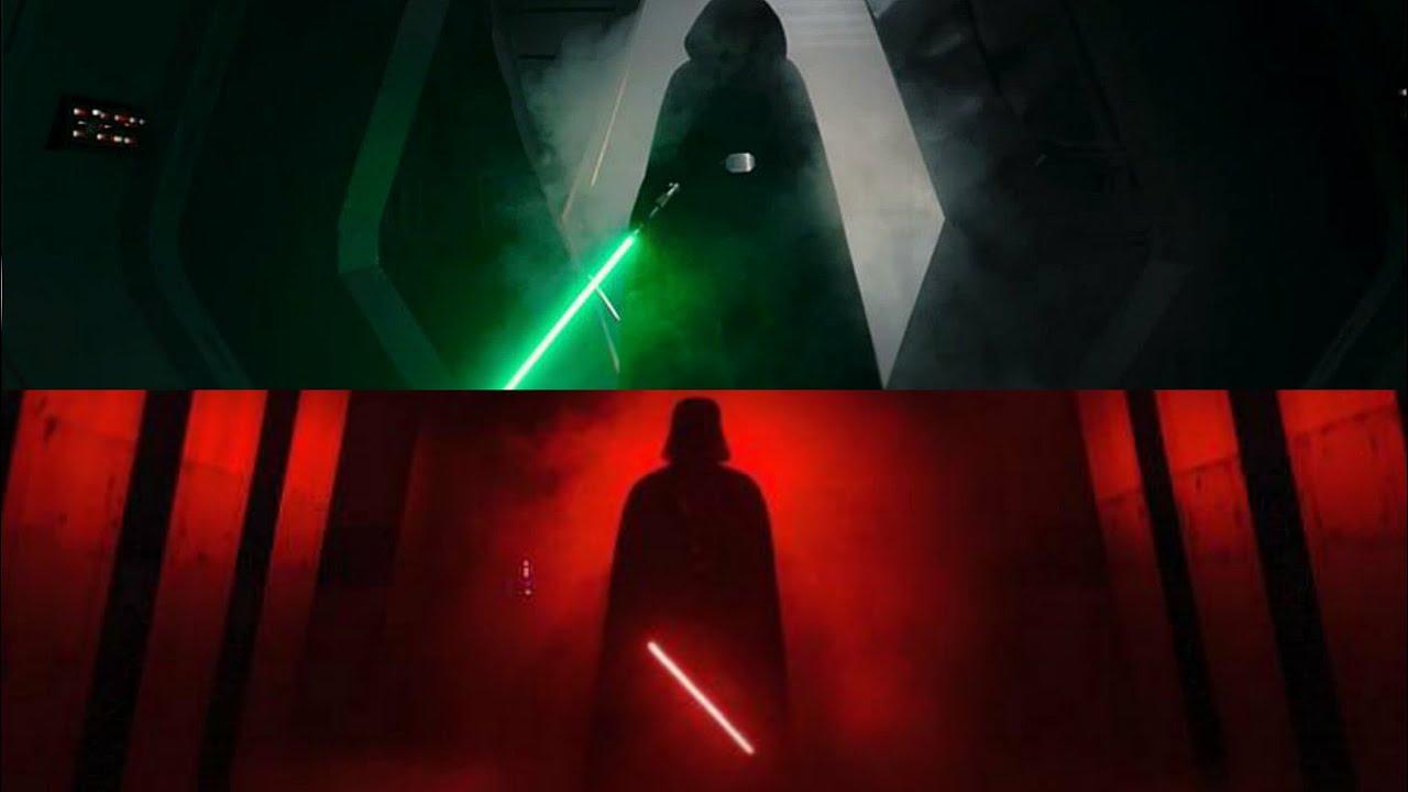 Luke Skywalker Darth Vader