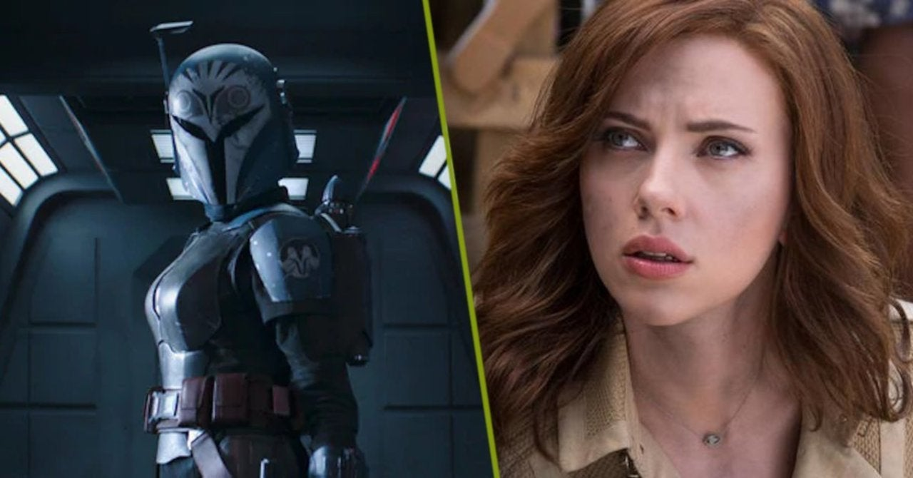 Scarlett Johansson Bo-Katan The Mandalorian