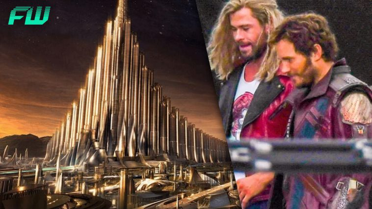 Thor : Love and Thunder Set Photos Reveal Return of Asgard