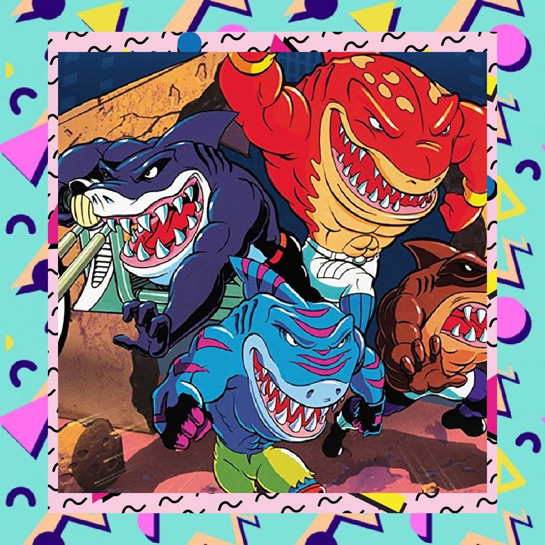Street Sharks 90s Movie