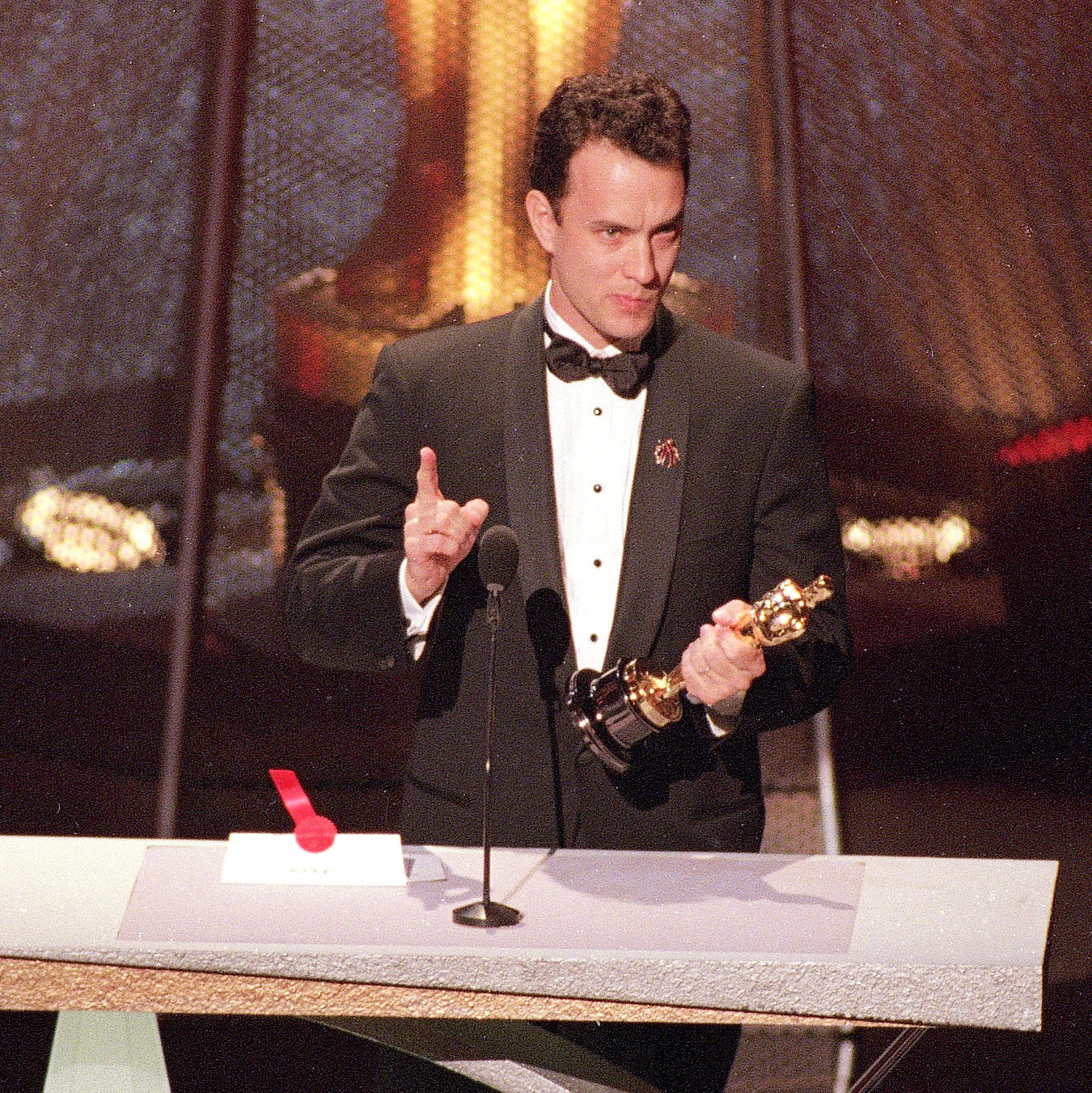 Tom Hanks at Oscars 1994