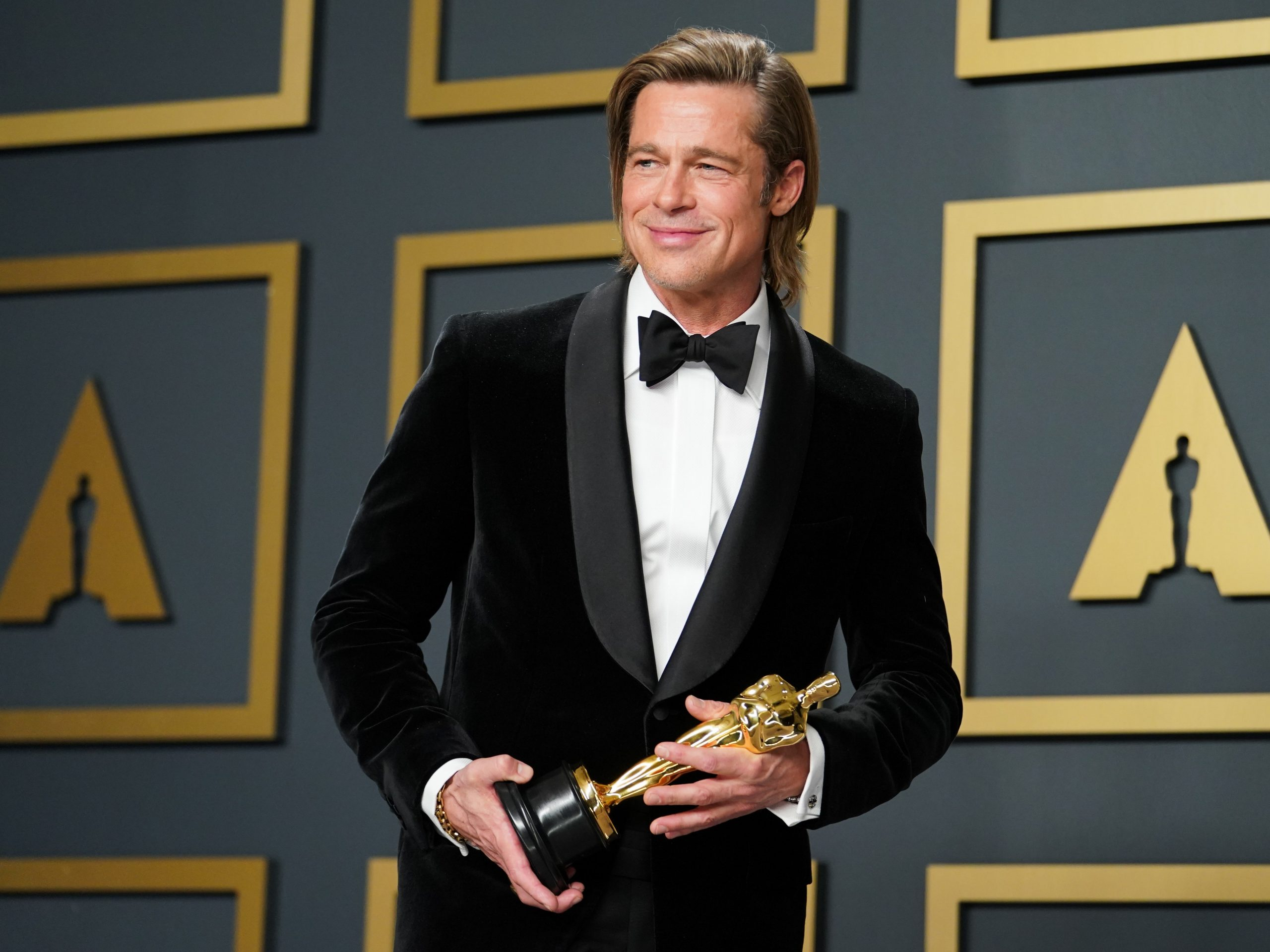 Brad Pitt at Oscars 2020