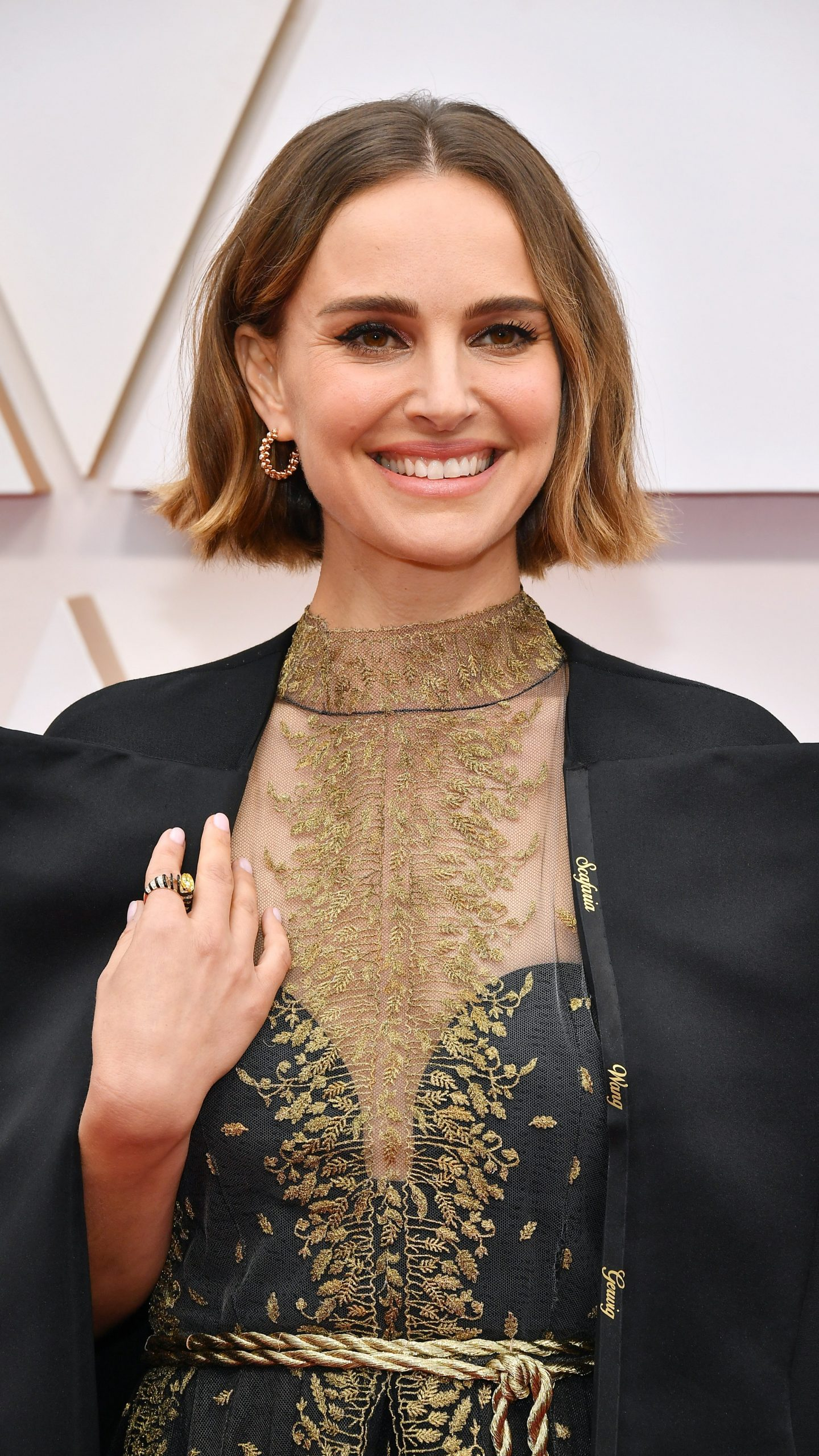 Natalie at Oscars 2020