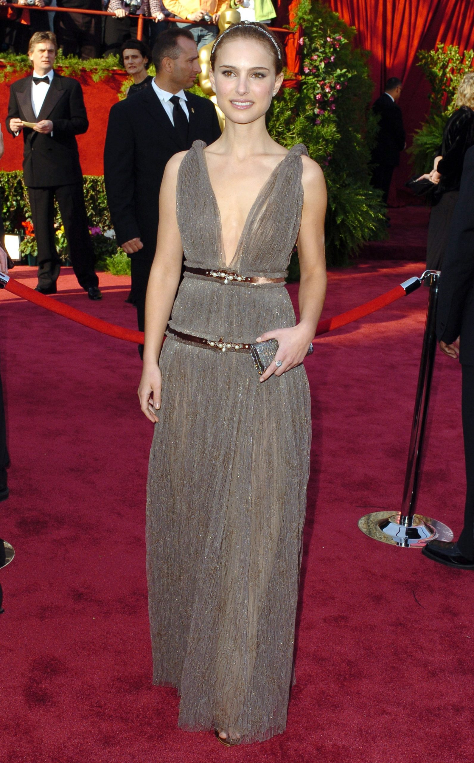 Natalie at Oscars 2005