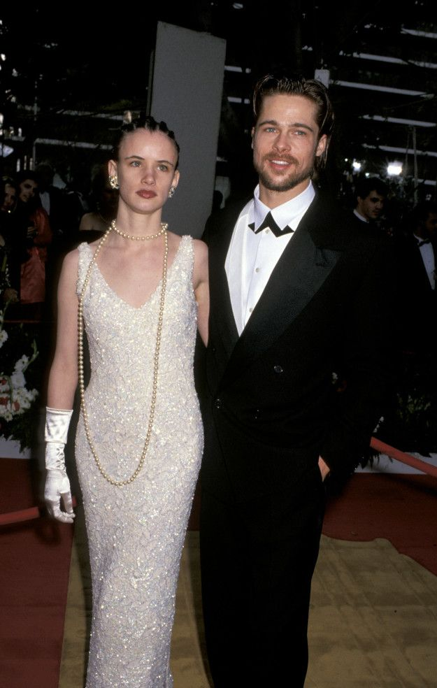 Brad Pitt at his first Oscars