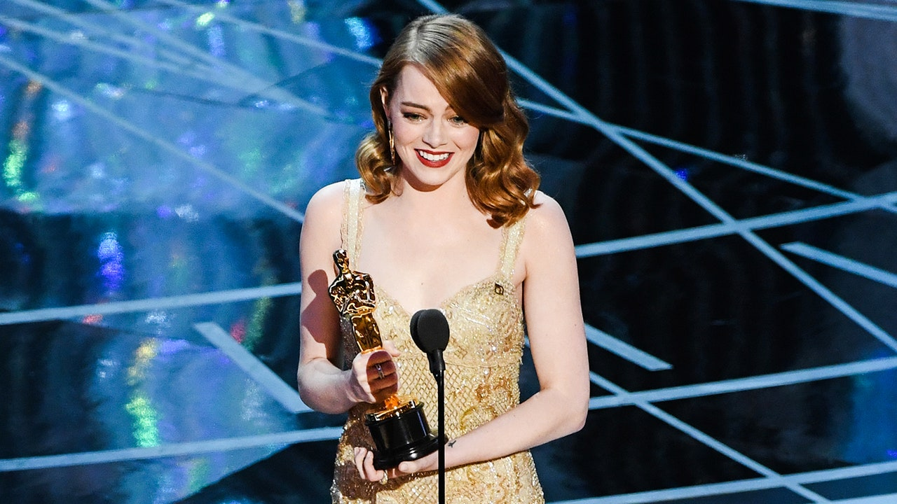 Emma Stone at Oscars 2017
