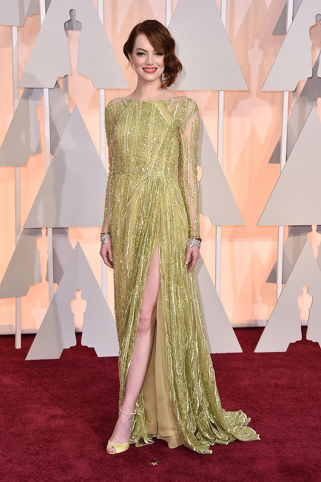 Emma Stone at Oscars 2015