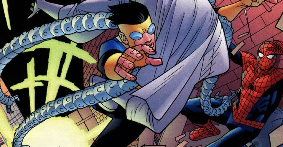 How Invincible Got Trapped in the Marvel Universe