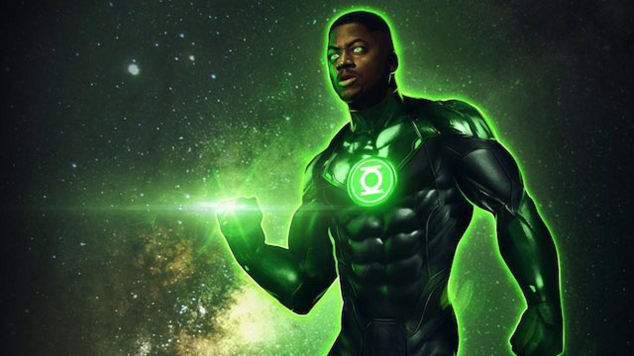 Wayne T. Carr John Stewart Green Lantern Snyder Cut