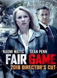 Spy Thriller Fair Game