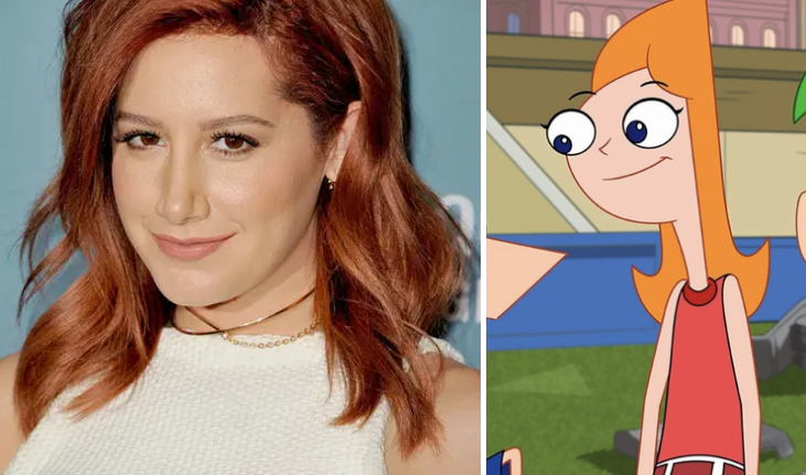 Candace from Phineas and Ferb looks like she was made keepingAshley Tisdale in mind.