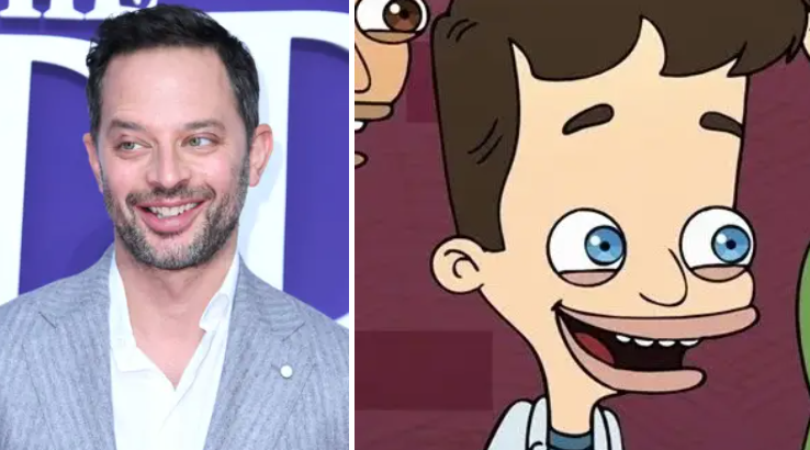 The similarity between Nick Kroll and the character Nick in Big Mouth is impeccable.