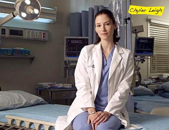 Chyler Leigh as Lexie on Grey's Anatomy
