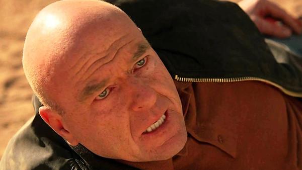 Dean Norris as Hank on Breaking Bad