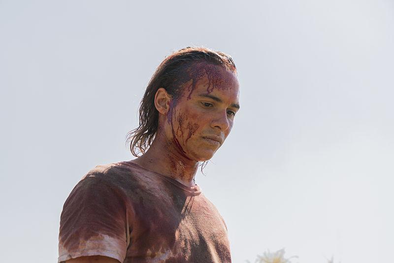 Frank Dillane as Nick on Fear the Walking Dead