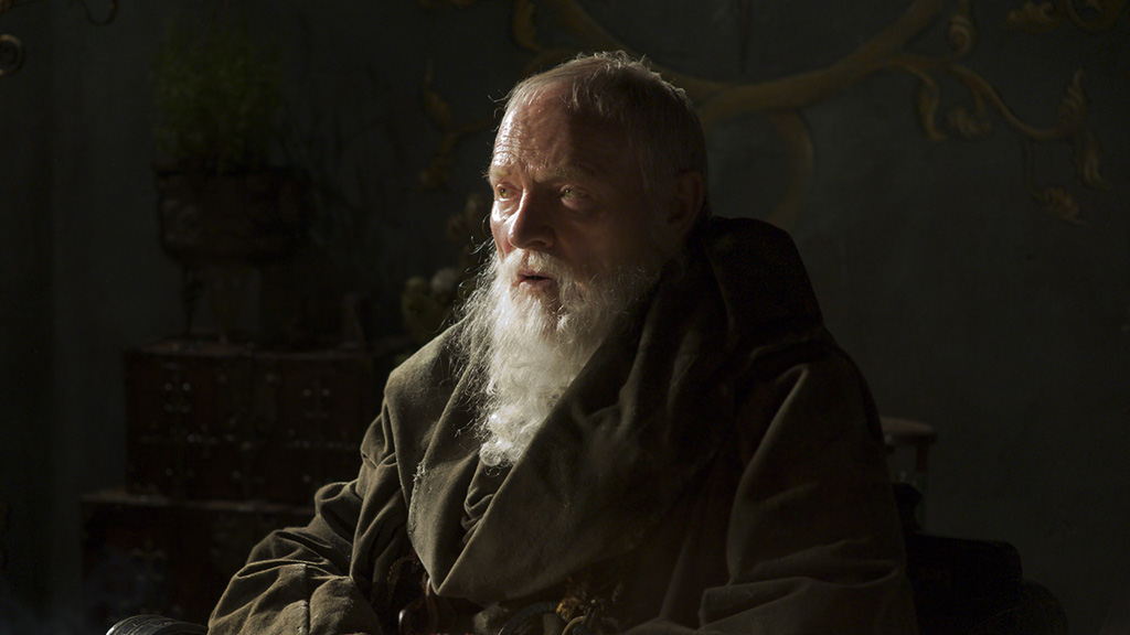 Julian Glover as Grand Maester Pycelle on Game of Thrones