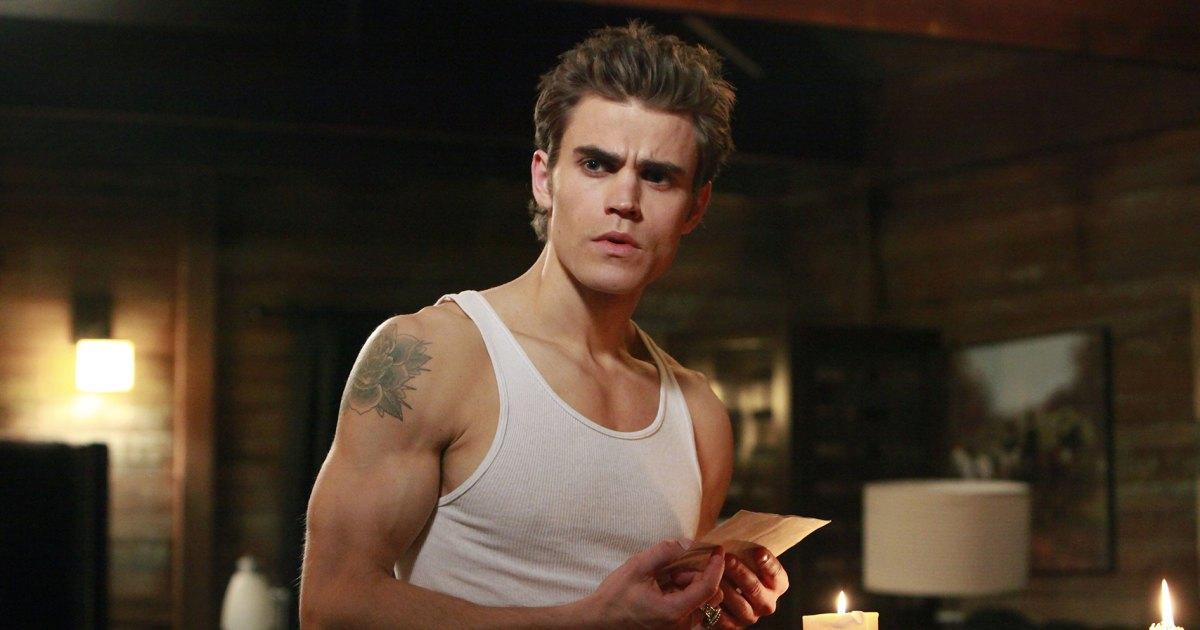 Paul Wesley as Stefan on The Vampire Diaries