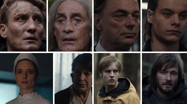 The entire cast of 'Dark'
