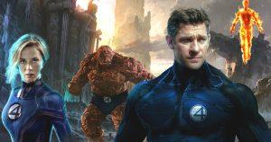 John Krasinski and Emily Blunt Marvel Studios' Fantastic Four