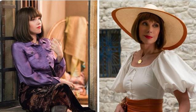 Christine Baranski as Tanya in 'Mama Mia'