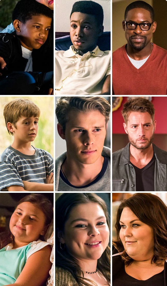 The whole 'This is Us' cast