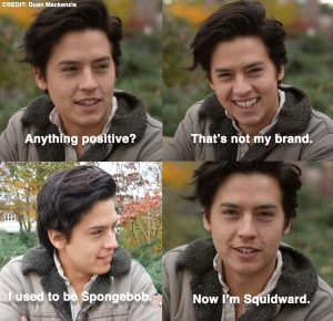 Cole talking about his brand with Duan Mckenzie