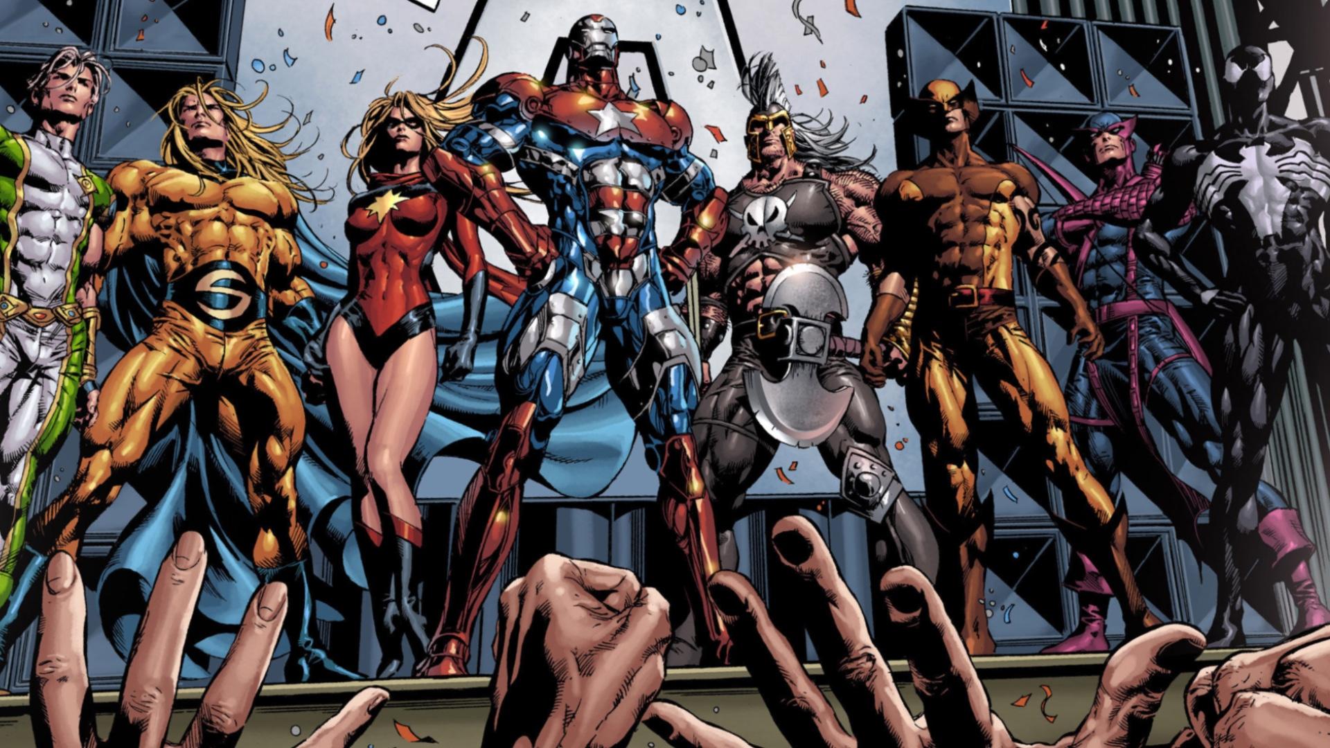 Bullseye Hawkeye Dark Avengers