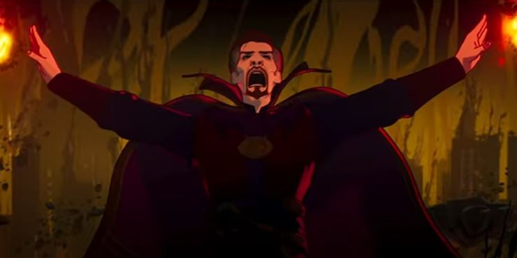 """There is a report from Marvel's """"What If...?"""" It will feature the evil version of Doctor Strange, who turns into magic after the death of his true love and becomes a terrifying and powerful evil wizard."""