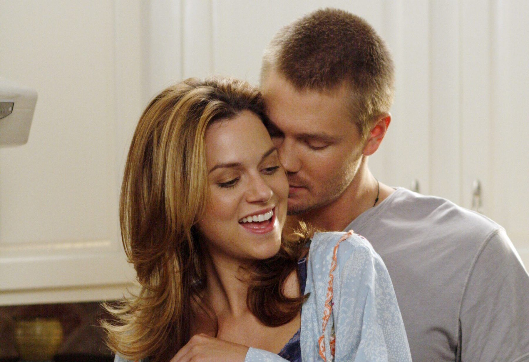 Chad Michael Murray and Hilarie Burton in One Tree Hill