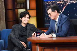 Cole on The Late Show with Stephan Colbert