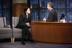 Cole Sprouse in 'Late Night With Seth Mayers