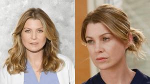 Ellen as Meredith Grey