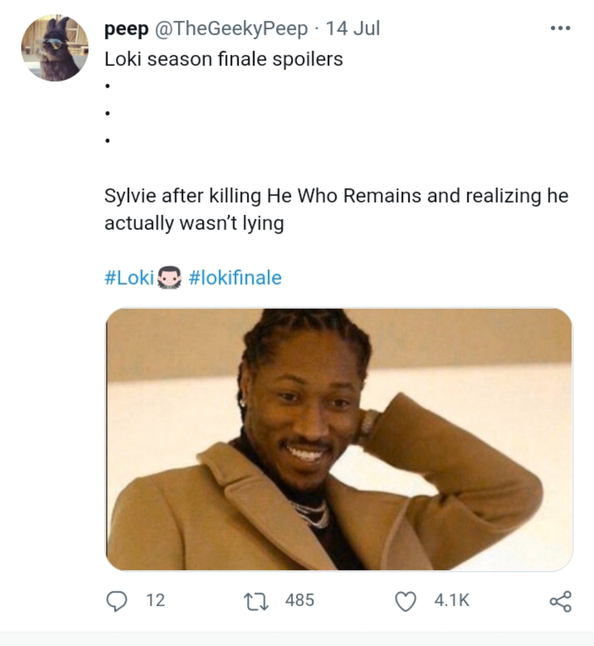 Loki season finale tweets