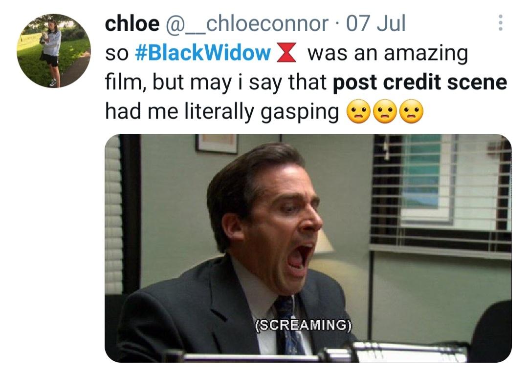 Black Widow post credit scene