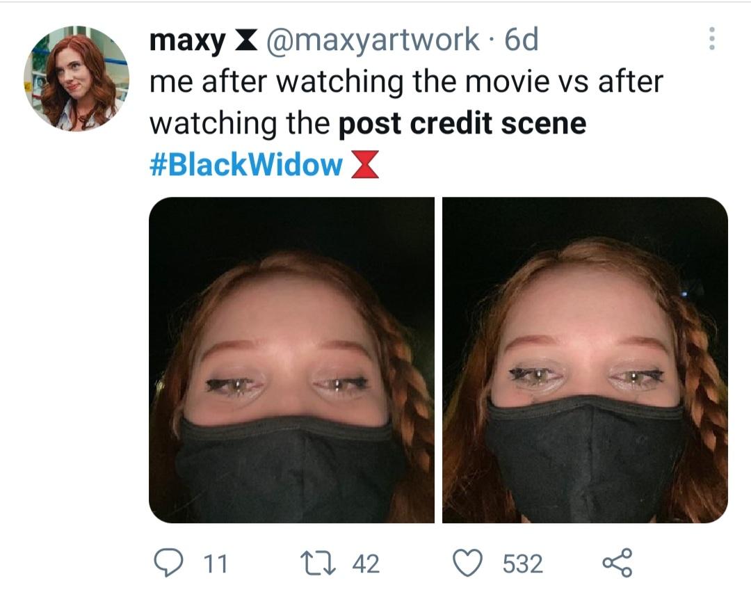 Crying fan reactions