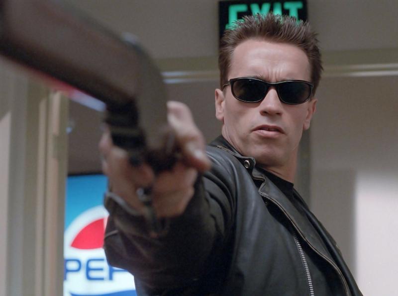 T 800 in Terminator 2: Judgement Day