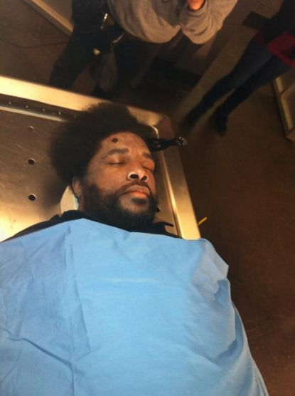 Questlove in 'Law & Order'