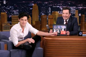 Cole on 'Tonight's Show' with Jimmy Fallon
