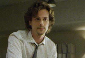 Matthew as Spencer Reid