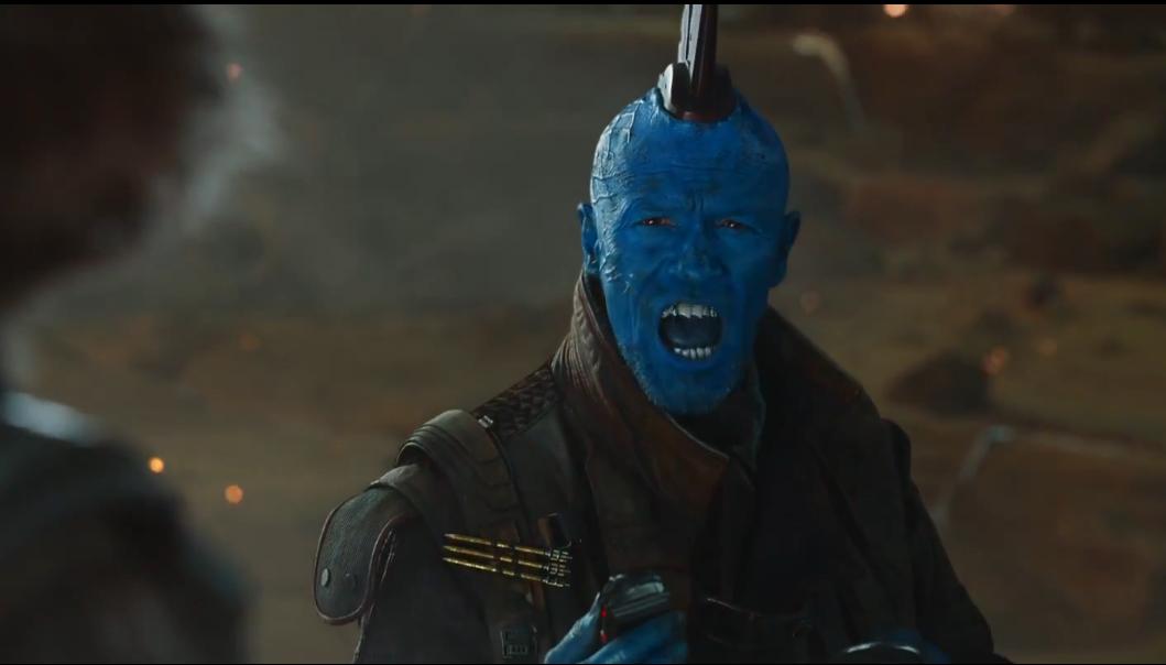 Yondu in Guardians of The Galaxy Vol 2