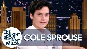 Sprouse on Tonight's Show