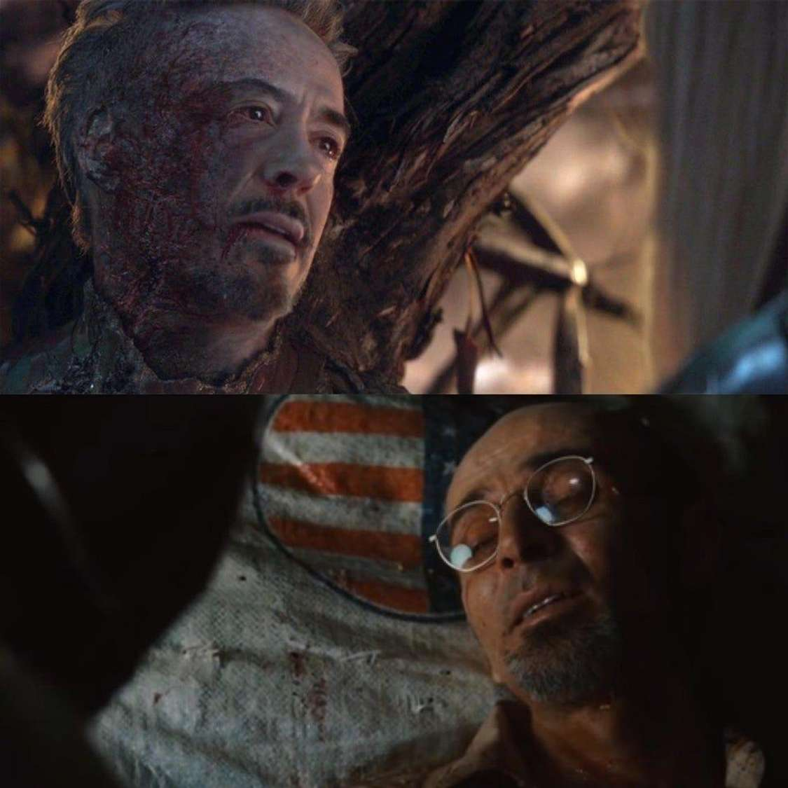 The parallel scenes