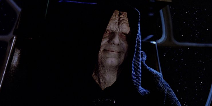 6. Palpatine is embodied by Ian McDiarmid in a way that few actors can match