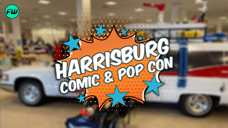 FandomWire at Harrisburg Comic & Pop Con