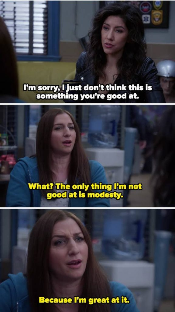 Gina is the sassiest