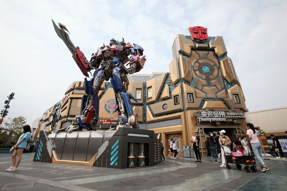 Transformer Universal Studios